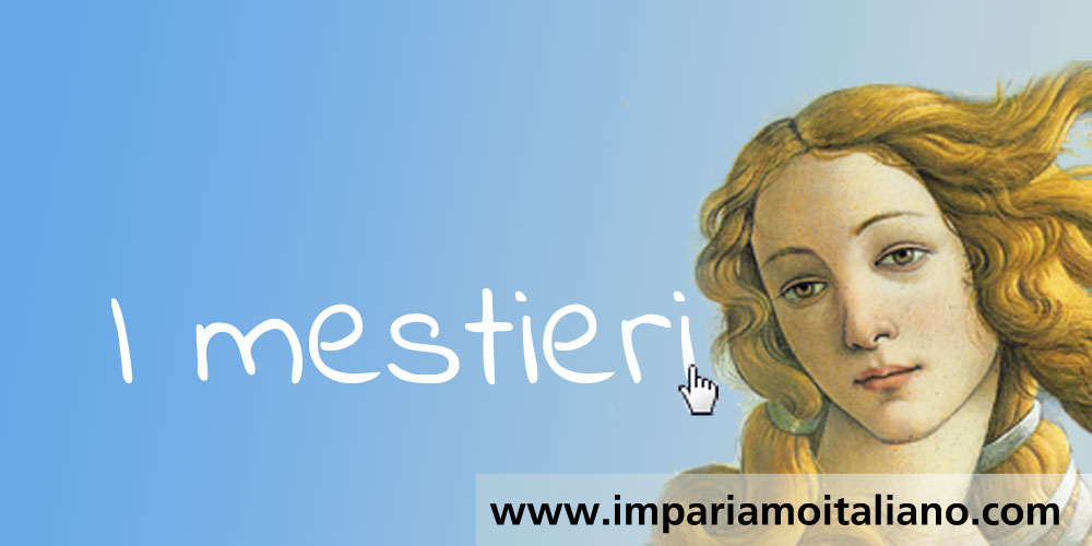 Vocabolario illustrato :: I mestieri